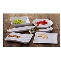 Product photograph showing Waterside 6-piece Party Snack Serving Set
