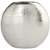 Product photograph showing Ideal Home Large Silver Scratch Vase