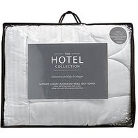 image-Hotel Collection Ultimate Luxury Australian Wool Rich 7Cm Mattress Topper