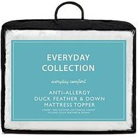 image-Everyday Collection Anti-Allergy Duck Feather &Amp Down 12 Cm Mattress Topper