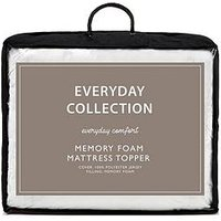 image-Everyday Collection Memory Foam 2.5 Cm Mattress Topper