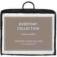 Product photograph showing Everyday Collection Memory Foam Pillow