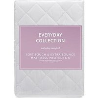 image-Everyday Collection Soft Touch &Amp Extra Bounce Mattress Protector
