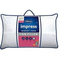 Product photograph showing Silentnight Firm Impress Memory Foam Pillow