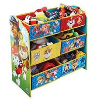 Product photograph showing Paw Patrol Paw Patrol Kids Storage Unit By Hellohome