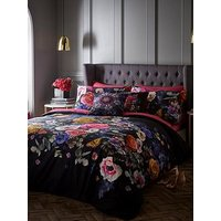 Product photograph showing Oasis Home Florianna Cotton 180 Thread Count Duvet Cover Set