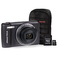 Praktica Luxmedia Z212 Le Graphite Camera Kit Including 16Gb Microsd Card And Case sale image