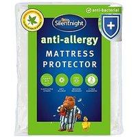image-Silentnight Anti Allergy, Anti Bacterial Mattress Protector