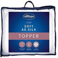 image-Silentnight Luxury Collection Soft As Silk Mattress Topper