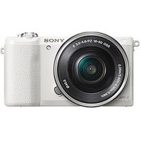 Sony Α5100 E-Mount Camera With Aps-C Sensor - White sale image