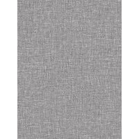Product photograph showing Arthouse Linen Texture Wallpaper - Mid Grey