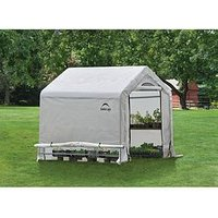 Product photograph showing Shelterlogic Shelter Logic 6x6 Greenhouse In A Box