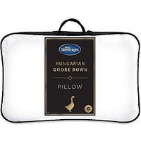 Product photograph showing Silentnight Ultimate Luxury Hungarian Goose Feather And Down Pillow