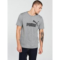 PUMA Mens ESS Logo Tee-851747 T-Shirt, Grau Medium Gray Heather, XXL