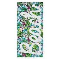 image-Catherine Lansfield Tropical Beach Towel