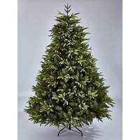Product photograph showing 8ft Sherwood Real Look Full Christmas Tree With Metal Stand