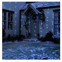 Product photograph showing Led Snowfall Projector Outdoor Christmas Light