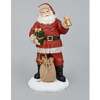 Product photograph showing Santa With Sack Christmas Ornament