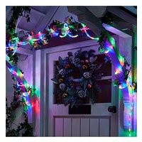 Product photograph showing Led Multi-coloured 5m Outdoor Christmas Rope Light