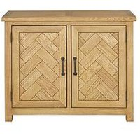 Product photograph showing Ready Assembled Parquet Compact Sideboard
