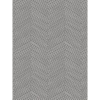 Product photograph showing Arthouse Arrow Weave Charcoal Wallpaper