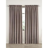Product photograph showing Laurence Llewelyn-bowen Grande Finale Reversible Faux Silk Slot Top Curtains