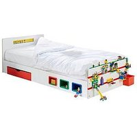Product photograph showing Room 2 Build Kids Single Bed With Storage