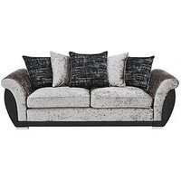 Product photograph showing Alexa 3 Seater Scatter Back Sofa