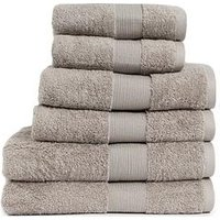 Product photograph showing Everyday Collection Egyptian Cotton 650gsm Towel Range Ndash Light Grey - 2 Bath Towels