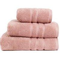 Product photograph showing Super Soft 600 Gsm Zero Twist Towel Range Ndash Blossom - Bath Sheet