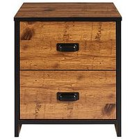 Product photograph showing Jackson Kids 2 Drawer Bedside Chest