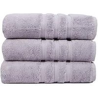 Product photograph showing Hotel Collection Luxury Ultra Loft Pima Cotton 800 Gsm Towel Range Ndash Silver - Bath Towel