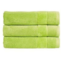 Product photograph showing Christy Prism Turkish Cotton Towel Collection Ndash Mojito - Bath Sheet