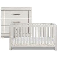 image-Silver Cross Coastline Cot Bed, Dresser &Amp
