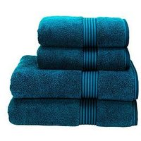Product photograph showing Christy Supreme Hygro 100 Supirma Cotton 650gsm Towel Range - Kingfisher - Bath Towel