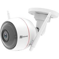 Product photograph showing Ezviz C3w Smart Outdoor Camera With Siren Amp Strobe Light