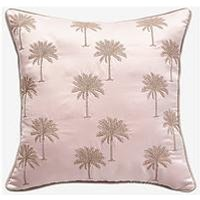 Product photograph showing Michelle Keegan Home Palm Cushion