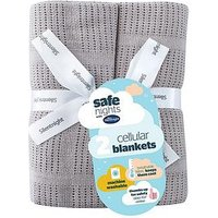 Product photograph showing Silentnight Pk 2 Cellular Blanket