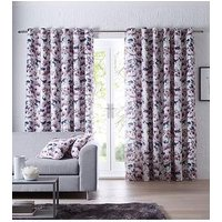 Product photograph showing Studio G Chelsea Eyelet Curtains - Heather
