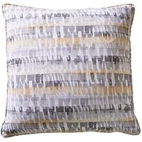 Product photograph showing Studio G Tenby Cushion - Ochre