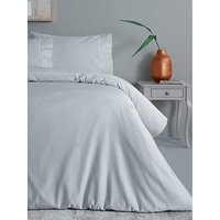 Product photograph showing Hotel Collection Luxury 1000 Thread Count Soft Touch Sateen Stitch Border Duvet Cover