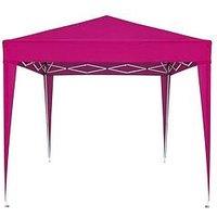 Product photograph showing Large Pop Up Gazebo 2 5m X 2 5m - Pink