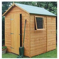 Product photograph showing Rowlinson 7x5 Ft Premier Garden Shed
