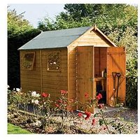 Product photograph showing Rowlinson 8 X 6ft Premier Shed
