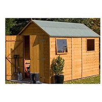 Product photograph showing Rowlinson 10x6 Ft Premier Garden Shed