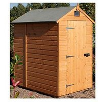 Product photograph showing Rowlinson Security Shed 6x4 Ft