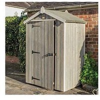 Product photograph showing Rowlinson Heritage 4 X 3ft Wooden Shed
