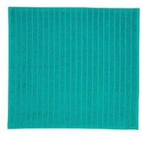 Product photograph showing Christy Prism Towelling Shower Mat Ndash Poolside Blue