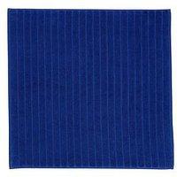 Product photograph showing Christy Prism Towelling Shower Mat Ndash Blue Velvet