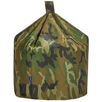 Product photograph showing Camouflage Water Resistant Bean Bag